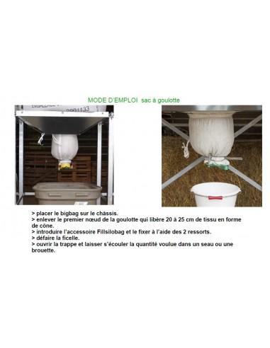 Válvula de esvaziamento big bag vendido /1 unidade