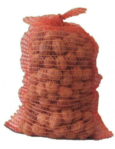 Bicolor mesh bag dry nuts 10 kg