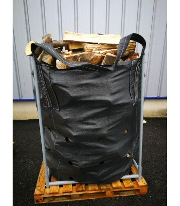 Supports for wood Big Bag